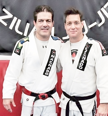 Black Belt with Master Machado