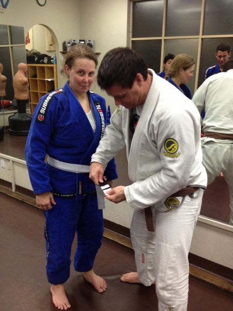 Kim first stripe