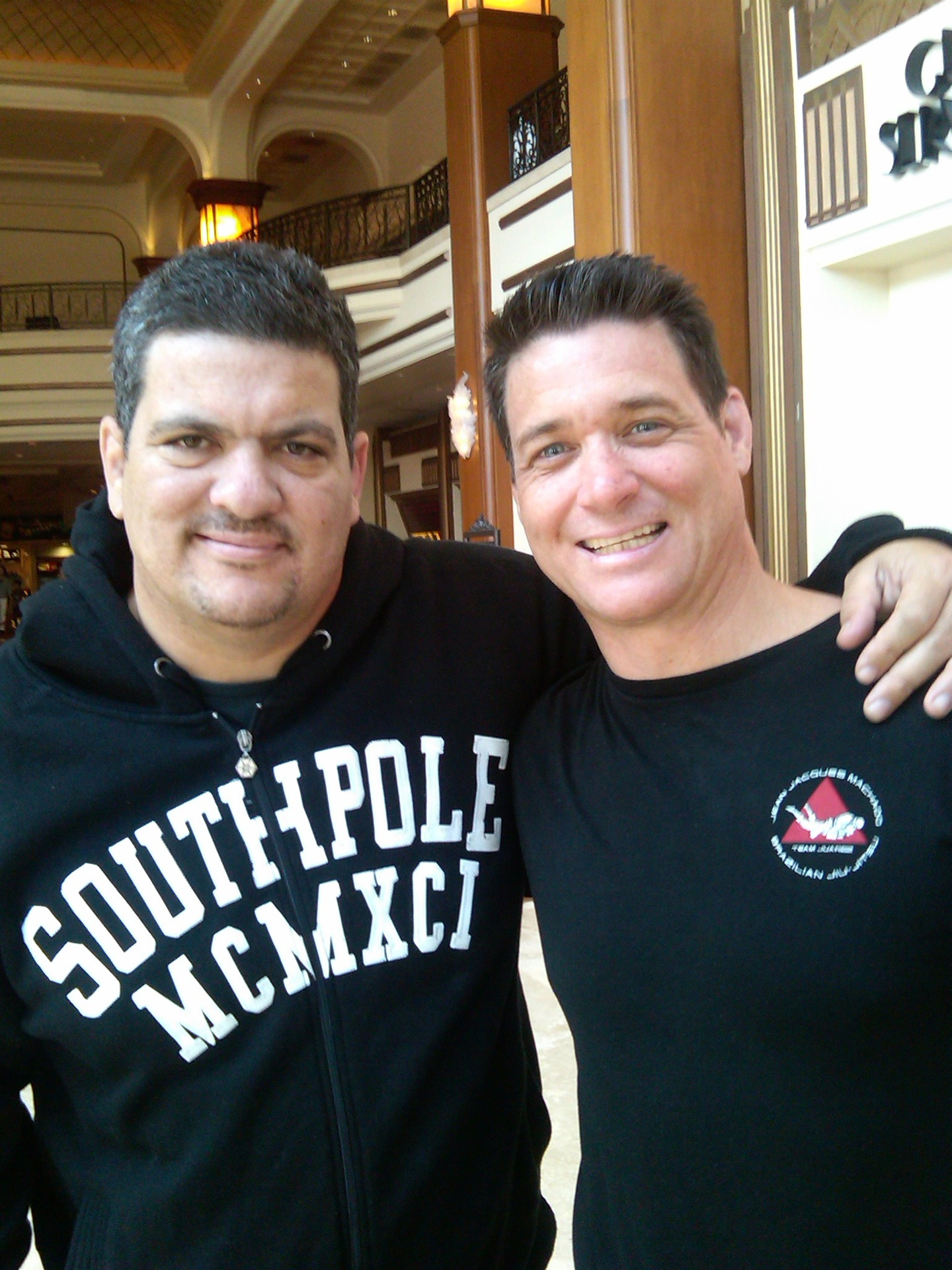 Bryan and Master Rigan at the Grove